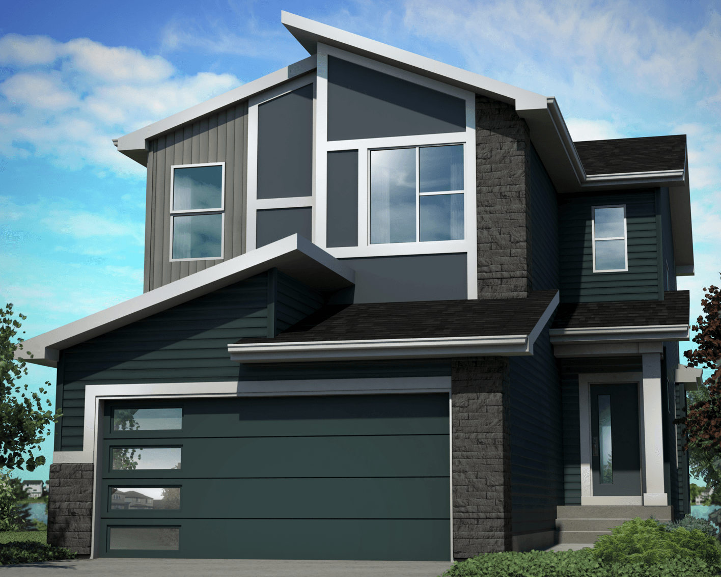 So What Exactly are Home Elevations? Contemporary Home Image